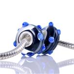 Koralik IRIS-1187 Niebieski