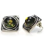 Kolczyki APL-027-KS-Bursztyn
