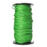 Woskowany Sznurek Jubilerski - Ciemny Zielony