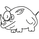 Grawer Specjalny-Nosorożec 1-1-10