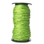 Woskowany Sznurek Jubilerski - Zielony