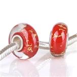 Koralik HGS-009 Ciemny Czerwony