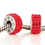 Koralik HZS-016 Czerwony