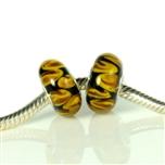 Koralik IRIS-1239 Żółty